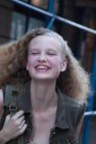 Retrato de Katya Riabinkina do modelo de forma Imagens de Stock Royalty Free