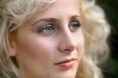 Retrato de la belleza Imagen de archivo libre de regalías