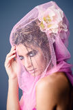 Retrato de la belleza Fotografía de archivo libre de regalías