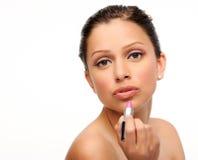 Retrato de la belleza del maquillaje Fotografía de archivo libre de regalías