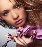 Retrato de la belleza joven Fotografía de archivo