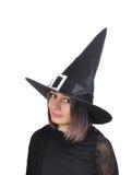 Retrato de la bruja Fotos de archivo libres de regalías