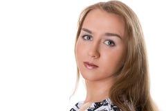 Retrato de la chica joven Imagenes de archivo