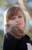 Retrato de la chica joven Imagen de archivo libre de regalías