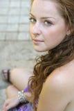 Retrato de la chica joven Fotografía de archivo libre de regalías