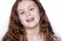 Retrato de la chica joven. Imágenes de archivo libres de regalías