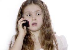 Retrato de la chica joven. Fotos de archivo libres de regalías