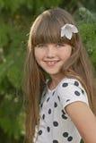Retrato de la chica joven Imágenes de archivo libres de regalías