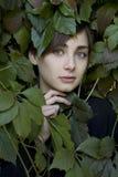 Retrato de la chica joven Fotografía de archivo