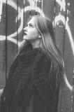 Retrato de la chica joven Foto de archivo libre de regalías