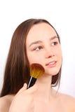 Retrato de la chica joven atractiva Fotos de archivo libres de regalías