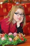Retrato de la chica joven hermosa fotos de archivo