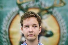 Retrato de la diversión del muchacho del adolescente Fotos de archivo