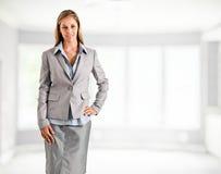 Retrato de la empresaria Foto de archivo libre de regalías