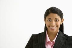 Retrato de la empresaria. foto de archivo libre de regalías