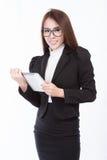 Retrato de la empresaria imagen de archivo