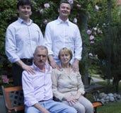 Retrato de la familia Imagen de archivo