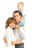 Retrato de la familia Imágenes de archivo libres de regalías