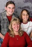 Retrato de la familia del día de fiesta Fotografía de archivo libre de regalías