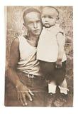Retrato de la foto del vintage Imágenes de archivo libres de regalías
