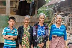Retrato de la gente de Toraja Imagen de archivo libre de regalías