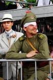 Retrato de la gente en trajes históricos imagenes de archivo