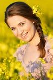 Retrato de la hembra linda Fotografía de archivo