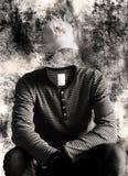 Retrato de la identidad desconocida Foto de archivo libre de regalías