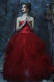 Retrato de la moda de la muchacha hermosa romántica fotografía de archivo libre de regalías