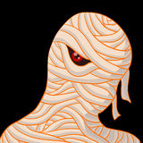 Retrato de la momia Foto de archivo libre de regalías