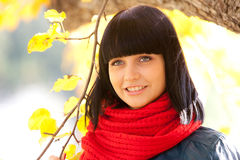 Retrato de la muchacha Imagen de archivo libre de regalías