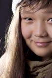 Retrato de la muchacha. Imagenes de archivo