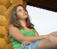 Retrato de la muchacha. Fotografía de archivo libre de regalías
