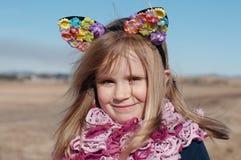 Retrato de la muchacha imagenes de archivo