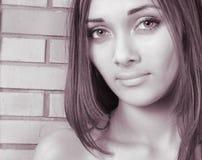Retrato de la muchacha Foto de archivo