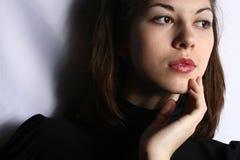 Retrato de la muchacha. Fotos de archivo