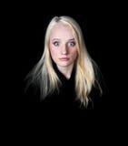 Retrato de la muchacha Fotografía de archivo