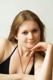 Retrato de la muchacha Fotos de archivo