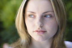 Retrato de la muchacha adolescente Fotos de archivo