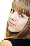 Retrato de la muchacha adolescente Foto de archivo libre de regalías