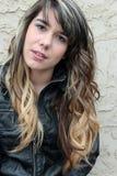 Retrato de la muchacha adolescente Imagen de archivo libre de regalías