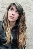 Retrato de la muchacha adolescente Foto de archivo