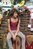 Retrato de la muchacha adolescente Imágenes de archivo libres de regalías