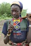 Retrato de la muchacha africana Fotografía de archivo libre de regalías
