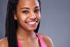 Retrato de la muchacha africana imagen de archivo libre de regalías