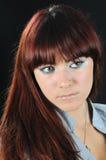 Retrato de la muchacha agradable Fotos de archivo libres de regalías