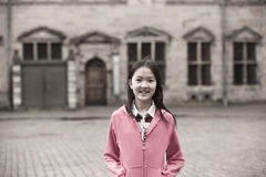 Retrato de la muchacha asiática Foto de archivo