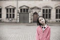 Retrato de la muchacha asiática Fotos de archivo libres de regalías