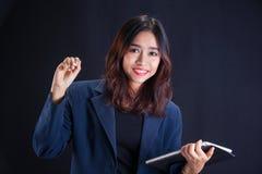 Retrato de la muchacha asiática hermosa imágenes de archivo libres de regalías