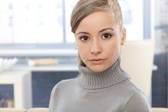 Retrato de la muchacha atractiva Imagen de archivo libre de regalías